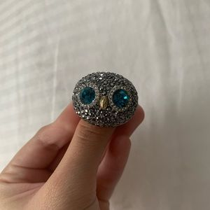 Fossil owl ring size 8